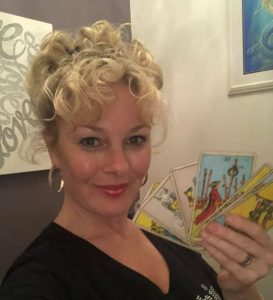 Kate With Cards